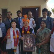 PRIP Gary Huang visit to Kuyilkuppam