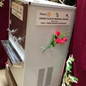 Water Cooler and Filtration Unit @ School