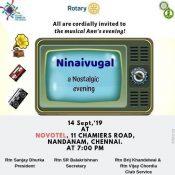 Ninaivugal – Nostalgic Ann's Evening