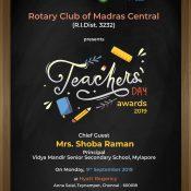 Best Teachers Awards 2019